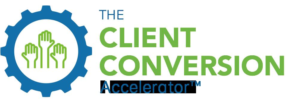 The Client Conversion Accelerator Logo
